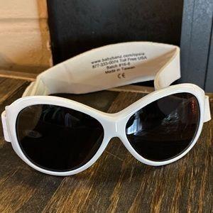🍀NWT Retro Adventure white BaBy BanZ sunglasses
